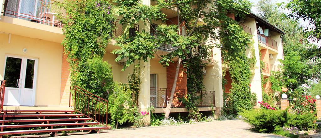 Отель Ольвия — отдых на Черном море | Базы отдыха Луговое